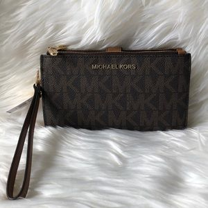 Michael Kors Double Zip Wristlet